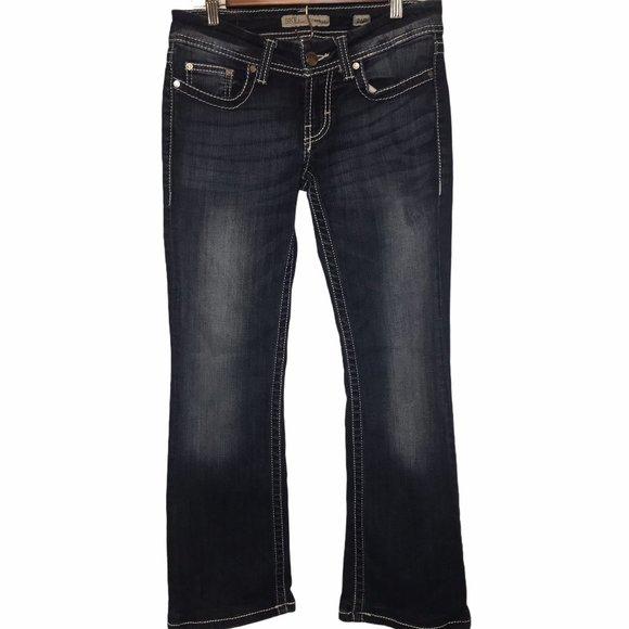 BKE Buckle Stella Boot Cut Denim Blue Jeans